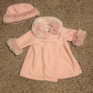 Starting Out baby girl peacoat